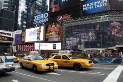 Χρονικό τετράγωνο πόλεων της Νέας Υόρκης στοκ εικόνα με δικαίωμα ελεύθερης χρήσης