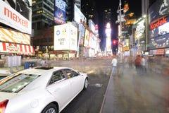 Χρονικό sqaure τη νύχτα στοκ φωτογραφία με δικαίωμα ελεύθερης χρήσης