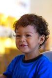 2χρονο ασιατικό χαμόγελο και ευτυχία αγοράκι Στοκ Φωτογραφίες