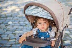 1χρονο πορτρέτο αγοράκι Στοκ Φωτογραφία