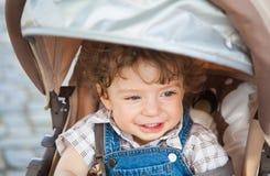 1χρονο πορτρέτο αγοράκι Στοκ Φωτογραφίες