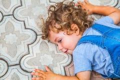 1χρονο πορτρέτο αγοράκι Στοκ εικόνα με δικαίωμα ελεύθερης χρήσης