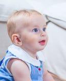 1χρονο πορτρέτο κοριτσάκι Στοκ Εικόνα