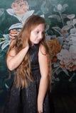 10χρονο πορτρέτο κοριτσιών Στοκ φωτογραφία με δικαίωμα ελεύθερης χρήσης