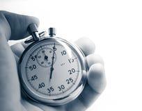 χρονόμετρο με διακόπτη εκμετάλλευσης χεριών Στοκ Εικόνες