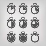 Χρονόμετρο με διακόπτη. Διανυσματική απεικόνιση Στοκ Φωτογραφία