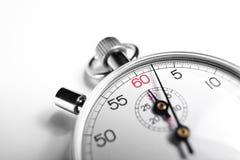 Χρονόμετρο με διακόπτη κινηματογραφήσεων σε πρώτο πλάνο Στοκ Φωτογραφίες