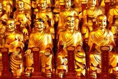 Χρυσά αγάλματα του Lohans Στοκ φωτογραφία με δικαίωμα ελεύθερης χρήσης