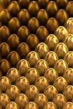 Χρυσά αυγά Πάσχας Στοκ Εικόνα