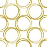 χρυσά δαχτυλίδια Στοκ εικόνες με δικαίωμα ελεύθερης χρήσης