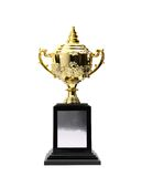 Χρυσά βραβεία τροπαίων Στοκ Εικόνα