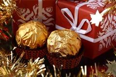 χρυσά γλυκά πολυτέλεια&si Στοκ φωτογραφίες με δικαίωμα ελεύθερης χρήσης