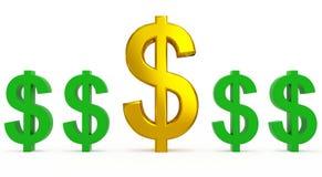 Ανεφοδιασμός δολαρίων απεικόνιση αποθεμάτων