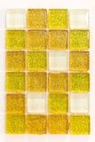 χρυσά κεραμίδια Στοκ φωτογραφία με δικαίωμα ελεύθερης χρήσης