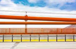 Χρυσά κιγκλιδώματα γεφυρών πυλών Στοκ φωτογραφία με δικαίωμα ελεύθερης χρήσης
