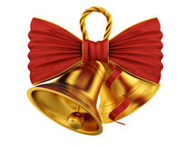 Χρυσά κουδούνια Στοκ εικόνα με δικαίωμα ελεύθερης χρήσης