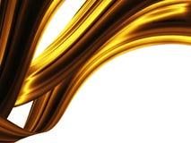 χρυσά κύματα ελεύθερη απεικόνιση δικαιώματος