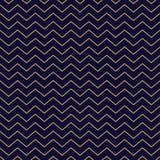 Χρυσά λεπτά λωρίδες υποβάθρου σχεδίων σιριτιών άνευ ραφής στο μπλε απεικόνιση αποθεμάτων