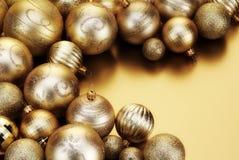 Χρυσά μπιχλιμπίδια Στοκ Εικόνα