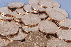 Χρυσά νομίσματα, Αμερικανός, δολάρια Στοκ Εικόνες