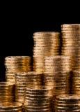 Χρυσά νομίσματα. Στοκ εικόνα με δικαίωμα ελεύθερης χρήσης