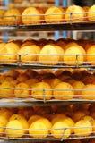 χρυσά persimmons στοκ εικόνα