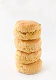 Χρυσά scones Στοκ εικόνες με δικαίωμα ελεύθερης χρήσης
