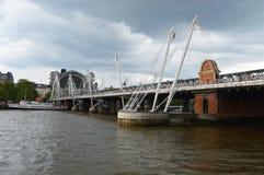 Χρυσές γέφυρες Λονδίνο ιωβηλαίου Στοκ φωτογραφίες με δικαίωμα ελεύθερης χρήσης