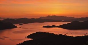 Χρυσές θάλασσες Στοκ Φωτογραφίες