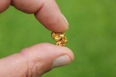 Χρυσές νιφάδες Στοκ Φωτογραφίες