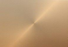 Χρυσές προσκρούσεις υποβάθρου χάλυβα Στοκ εικόνα με δικαίωμα ελεύθερης χρήσης