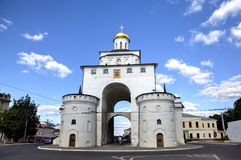 Χρυσές πύλες Στοκ Φωτογραφία