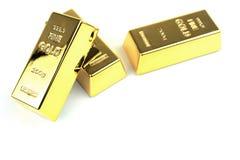 Χρυσές ράβδοι Στοκ εικόνα με δικαίωμα ελεύθερης χρήσης