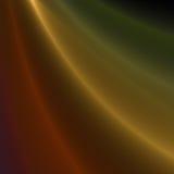 Χρυσές ραβδώσεις του φωτός Στοκ Φωτογραφίες