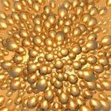 Χρυσές σφαίρες Στοκ εικόνα με δικαίωμα ελεύθερης χρήσης