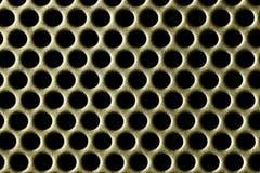 χρυσές τρύπες Στοκ φωτογραφία με δικαίωμα ελεύθερης χρήσης