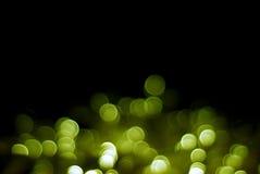 Χρυσές φυσαλίδες Στοκ Φωτογραφίες
