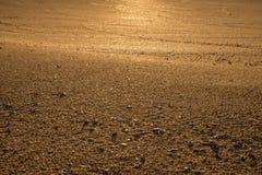 χρυσή άμμος Στοκ Εικόνες