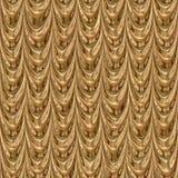 Χρυσή άνευ ραφής παραγμένη σύσταση υφασματεμποριών Στοκ εικόνα με δικαίωμα ελεύθερης χρήσης