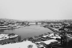 Χρυσή άποψη κέρατων από το Hill LOTI του Pierre Στοκ Εικόνες
