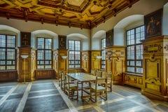 Χρυσή αίθουσα του Άουγκσμπουργκ Στοκ φωτογραφία με δικαίωμα ελεύθερης χρήσης