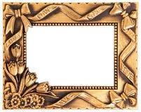 χρυσή αγάπη πλαισίων Στοκ εικόνες με δικαίωμα ελεύθερης χρήσης