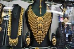 Χρυσή αγορά στο Ντουμπάι Στοκ εικόνα με δικαίωμα ελεύθερης χρήσης