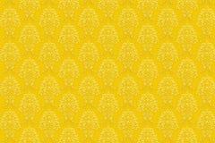 χρυσή αναδρομική ταπετσα Απεικόνιση αποθεμάτων