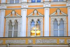 Χρυσή αντανάκλαση θόλων εκκλησιών Στοκ Εικόνες