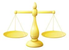 Χρυσή απεικόνιση κλιμάκων ελεύθερη απεικόνιση δικαιώματος