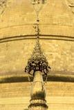 Χρυσή αρχιτεκτονική ναών stupa παραδοσιακή στην παγόδα Yangon το Μιανμάρ Νοτιοανατολική Ασία shwedagon Στοκ Φωτογραφίες