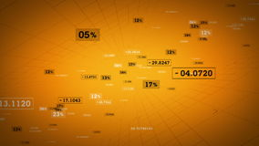 Χρυσή αύξηση συνδέσεων δικτύων ελεύθερη απεικόνιση δικαιώματος