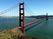 Χρυσή γέφυρα πυλών - ΗΠΑ Αμερική στοκ φωτογραφία με δικαίωμα ελεύθερης χρήσης