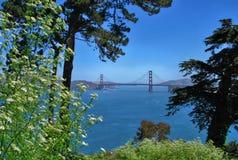 Χρυσή γέφυρα πυλών στο Σαν Φρανσίσκο, Καλιφόρνια ΗΠΑ στοκ φωτογραφία με δικαίωμα ελεύθερης χρήσης